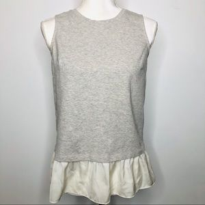 J. Crew Factory Grey Sleeveless Top Size XS